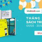 Vinabook giảm giá các loại sách kỹ năng sống, kinh tế, văn học