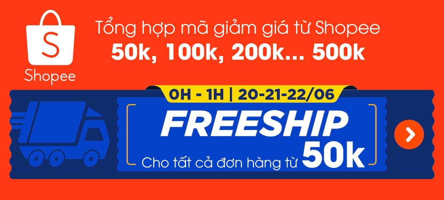 shopee freship tháng 6