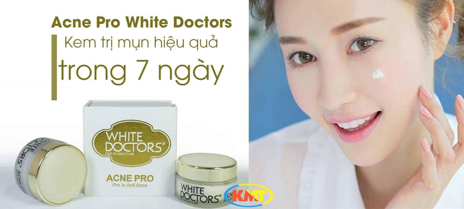 Kem trị mụn Acne Pro White Doctors